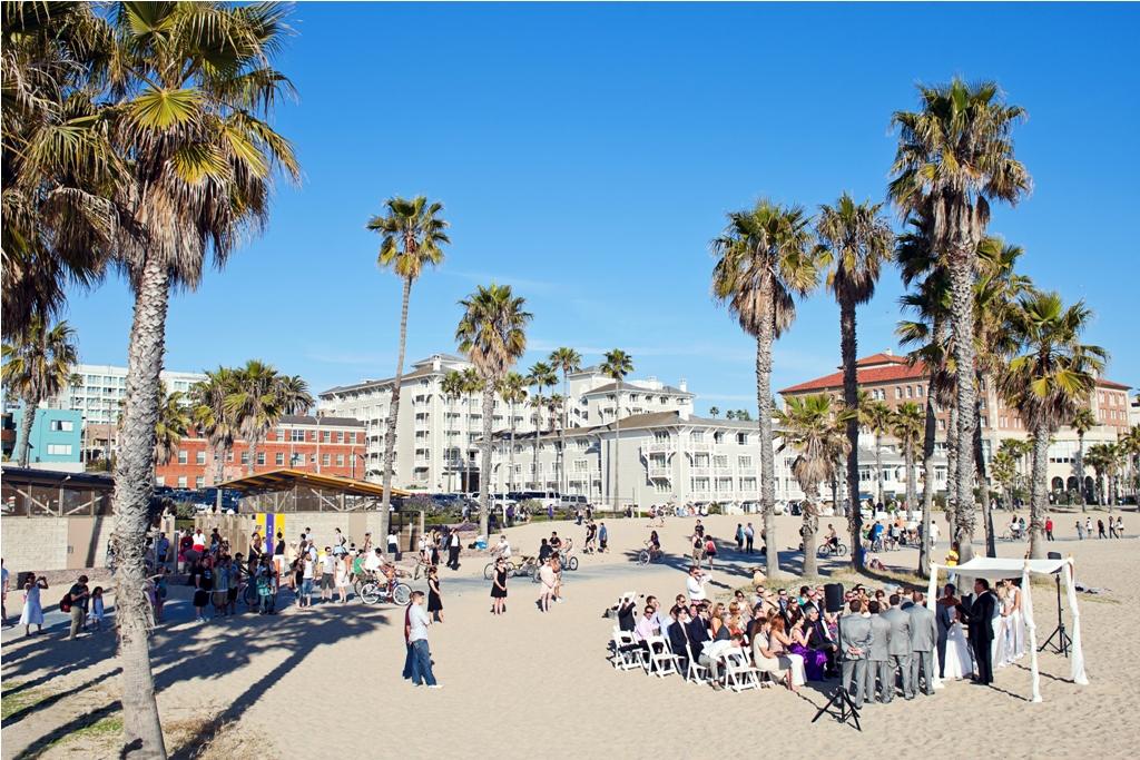 I Do How To S Santa Monica Beach Wedding Ceremony Lvl
