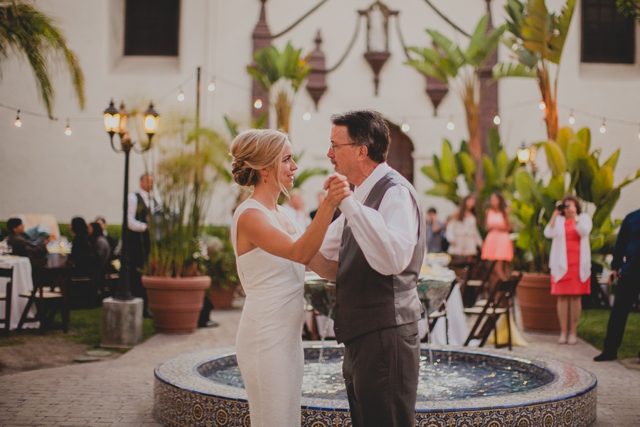 san buenaventura mission wedding